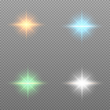 Light effect abstract background