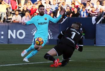 La Liga Santander - Leganes vs FC Barcelona