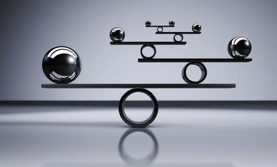 Balance Business Lifestyle Concept
