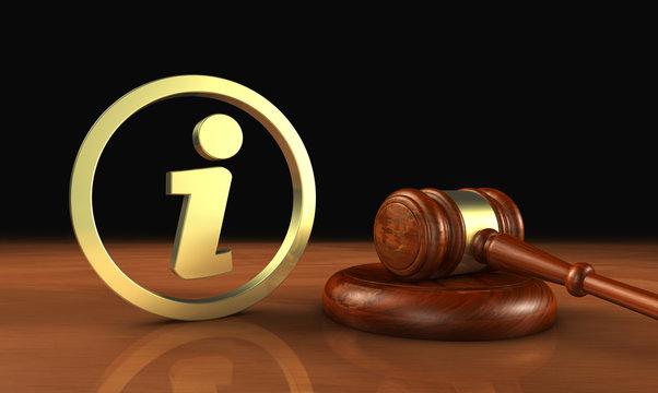 Law Info Concept