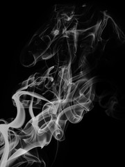 Texture of smoke. 3D illustration.