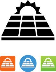 Vector Solar Panel Icon