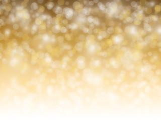De focused of golden shiny lights for background