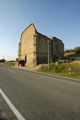 ruine der beller kirche bei eckelsheim