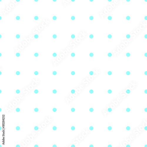 Sfondo Bianco Con Pois Azzurri Immagini E Fotografie Royalty Free