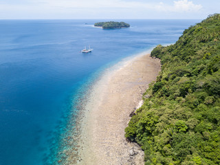 Aerial View of Banda Islands