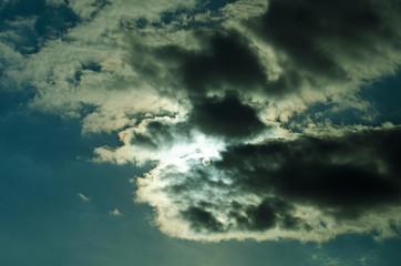 Skys breaking the light