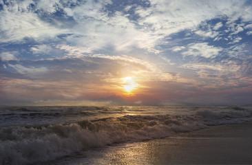 Sea waves and sky sets
