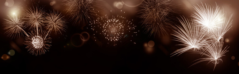 Fireworks and background