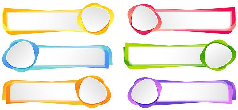 Label design in six colors