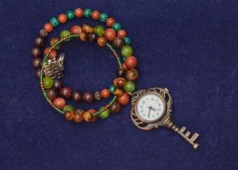 bracelet of colored balls