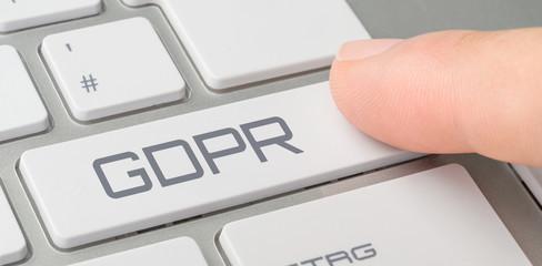 Tastatur mit beschrifteter Taste - GDPR
