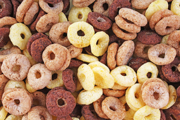 Cereal, cereals as background. Food texture pattern. Food photo