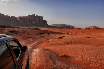 Dzika przygoda na pustynnym szlaku, Jordania
