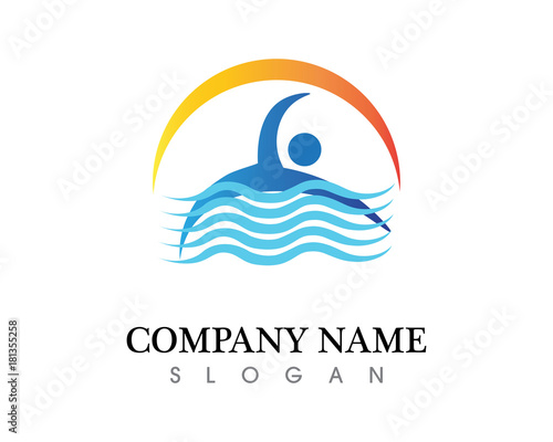 Water Nature Logo And Symbols Template Icons App Stock Image And