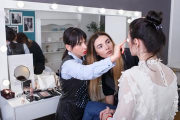 professional makeup teacher