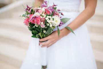 Wedding bouquet of the bride, the wedding bouquet, wedding floristry