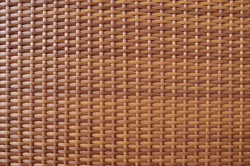 Brown handicraft weave texture or brown mats for background