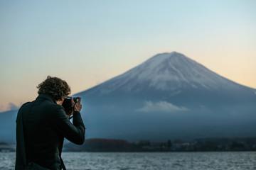 撮影・富士山