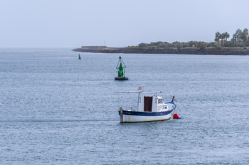fishing pier of Spain