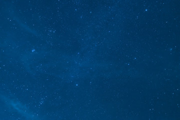 stars with blue sky