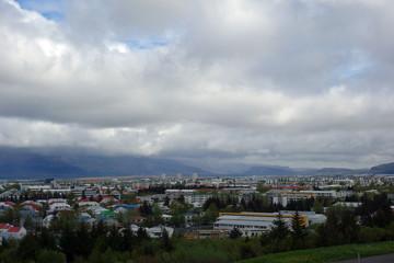 Reykjavík - Übersicht der Hauptstadt Islands