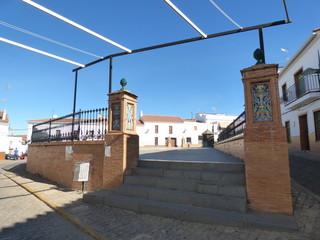 Cumbres Mayores, pueblo de Huelva, Andalucia (España)