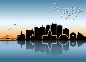 Winnipeg skyline - Canada