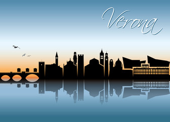 Verona skyline - Italy