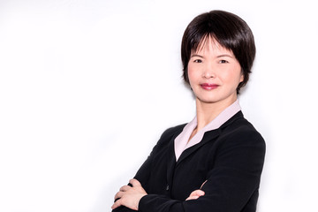 Portrait of an Asian business woman
