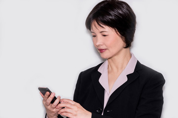 Portrait of an Asian business woman