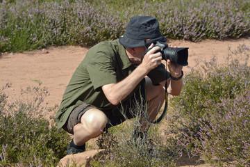 naturfotograf in der mehlinger heide