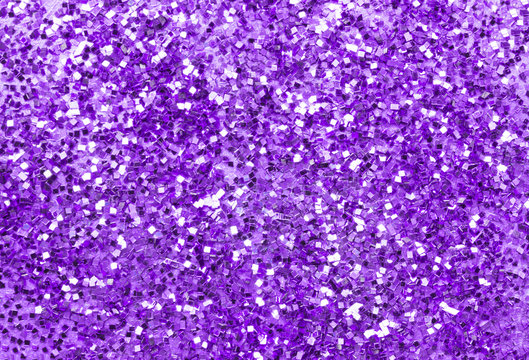 Background lilac with silver glitter