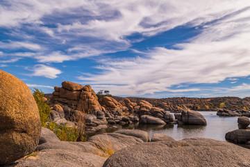 Watson Lake in Prescott Arizona: Granite Dells