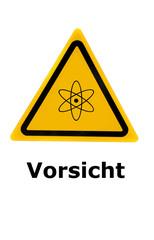 Vorsicht Radioaktivität