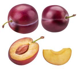 Set fresh plum