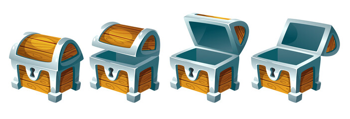 treasure chest for animation