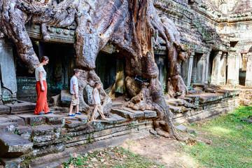 Preah Khan jungle temple