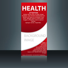 Medical Brochure Flyer Design Template A4 Size - Medical Brochure Template