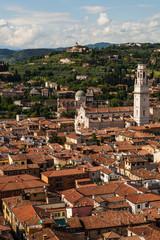 Verona von oben