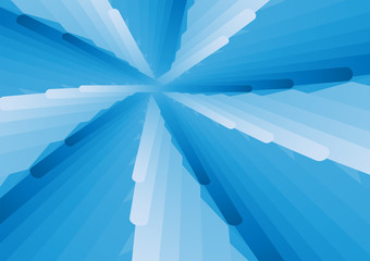Blue and white overlap abstract background vector