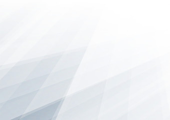 Gray and white overlap geometric  abstract vector background
