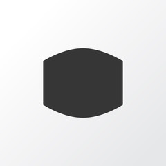 Wide Angle Icon Symbol. Premium Quality Isolated Monitor Element In Trendy Style.