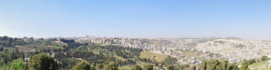 Panoramic View of Jerusalem, Israel
