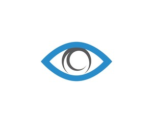 Branding Identity Corporate Eye Care vector logo design