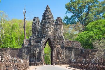South Gates of Angkor Thom, Siem Reap, Cambodia