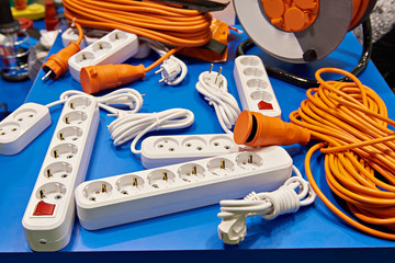 Extension cord and power strip
