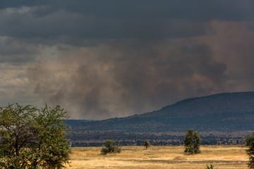 Wolken über der Serengeti - Tansania