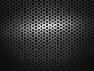 black metal comb grate background
