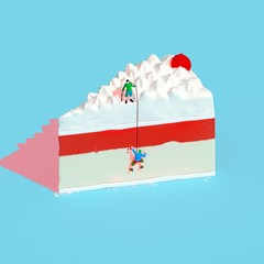 cake climbing